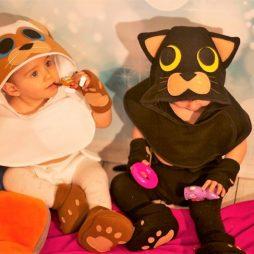 Disfraces de bebe originales gatitos