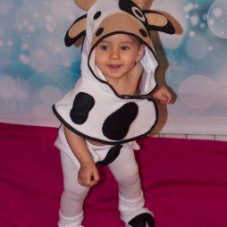 Disfraz para bebe original vaca