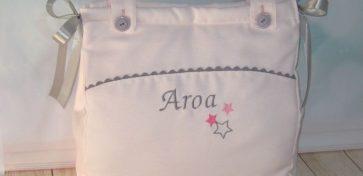 Bolso panera carrito bebé personalizado