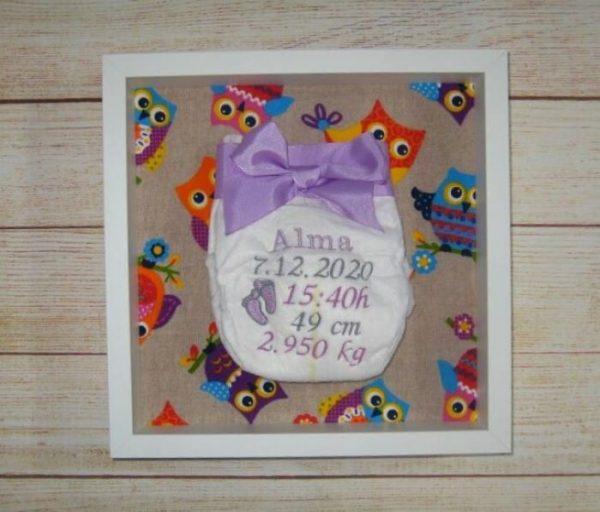 Cuadros nacimiento decoración bebé