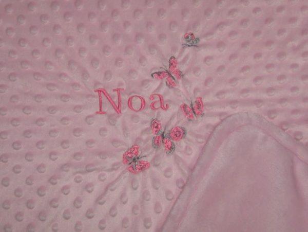 Mantitas bebé bordadas personalizadas